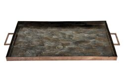 18719-IR-SM DEKORATIF TEPSI 28x49cm - Thumbnail
