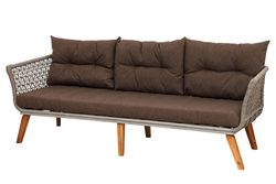 KERVAN - 76-0004 FLORA UCLU KOLTUK BEJ 210x76x72cm