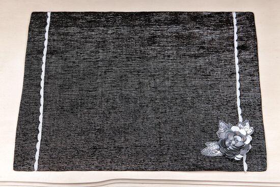 AZUL AMERIKAN SERVIS SIYAH 35x50cm