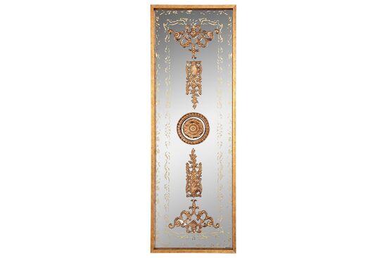 DS6 GOLD DEKORATIF AYNA 40x121cm