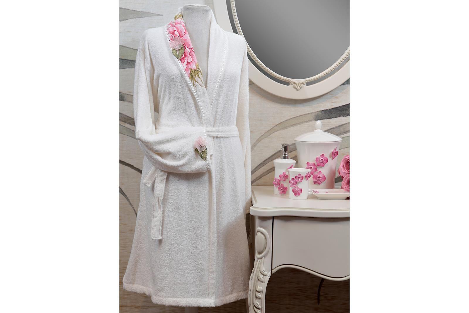 HOME SWEET HOME - FLURINA BORNOZ KREM L/XL BEDEN