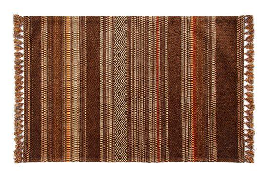 INKA KILIM 0026 IN 01 BROWN TERRA 80x300