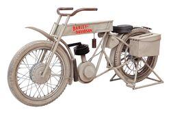 KERVAN - LG-54 HARLEY MOTORSIKLET BAR UNITESI 47x170x92cm