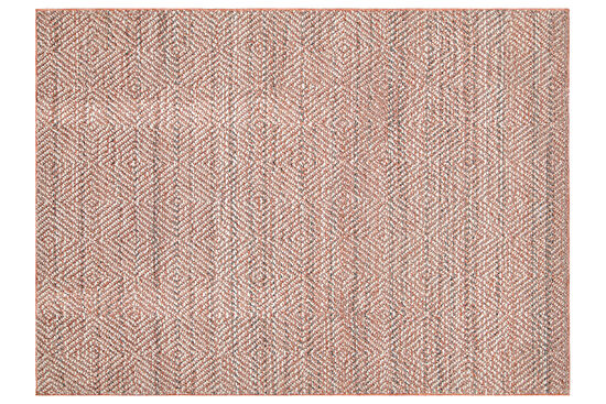 LINQ 7426D HALI GRI - KREM 120x170 cm