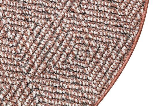 LINQ 7426D HALI GRI-KREM YUVARLAK 100cm