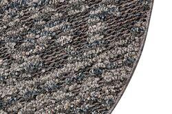 LINQ 7437B HALI A.GRI-ANTRASIT YUVARLAK 100cm - Thumbnail