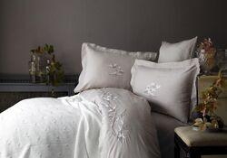 HOME SWEET HOME - LUCI BATTANIYELI NEVRESIM TAKIMI CAPPUCCINO 200x220cm 7 PRC