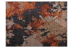 PALAZZO 6249 A HALI YESIL - LACIVERT 140x200 cm - Thumbnail