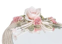 ROSE DREAM AYNALI BANYO TEPSISI 47x26x5 cm - Thumbnail