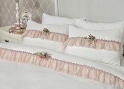 HOME SWEET HOME - ROSE DREAM NEVRESIM TAKIMI PEMBE CK.200x220cm 6 PRC