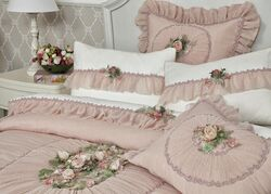 ROSE DREAM YATAK ORTUSU CIFT PEMBE 270x270cm 3 PRC - Thumbnail