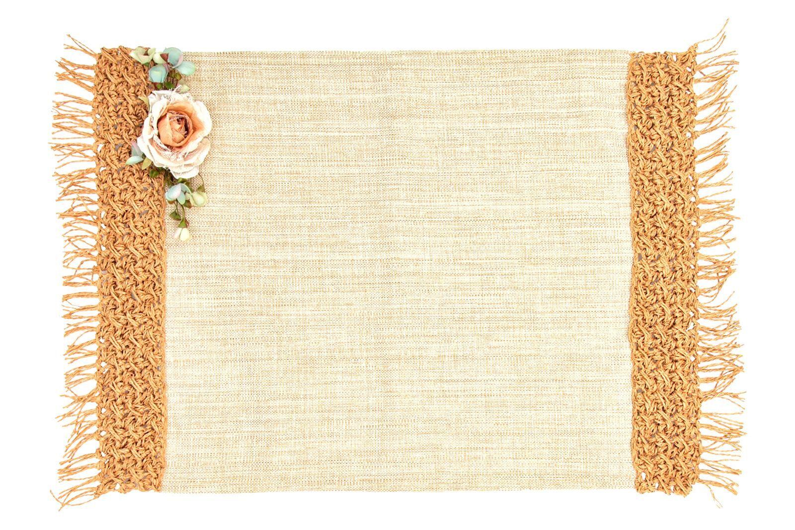 HOME SWEET HOME - ROSE NATUREL AMERIKAN SERVIS 40x50cm