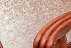 SANDALYE KOLLU BEJ 60x60x110cm (75201) - Thumbnail
