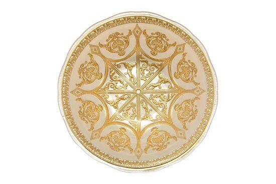 SYON KASE BEYAZ+GOLD 16.5x5.5cm(10755)